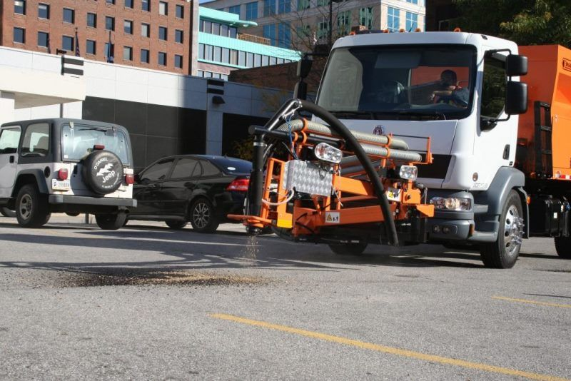 pothole patching machines