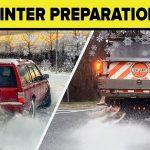 winter asphalt pavement preparation