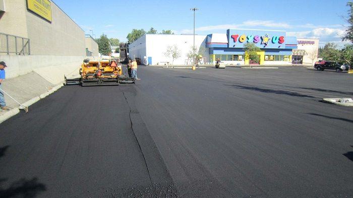 municipal asphalt paving