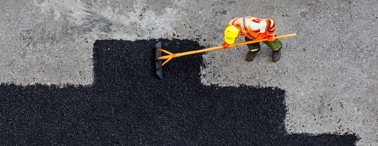 asphalt resurface over concrete