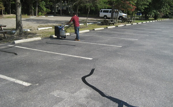 Routine Parking Lots Repair Work