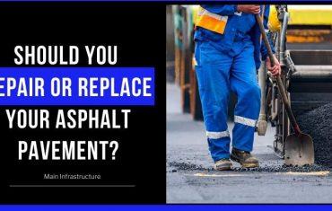 repair or replace asphalt