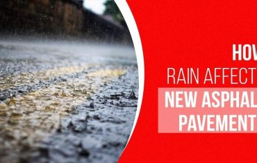 how rain affects asphalt