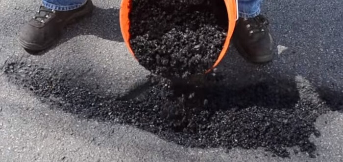pothole repair material