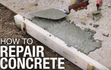 concrete driveway repairs