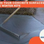 winterizing concrete