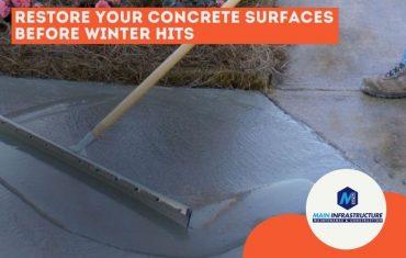 winterizing concrete