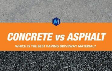 asphalt vs concrete driveway