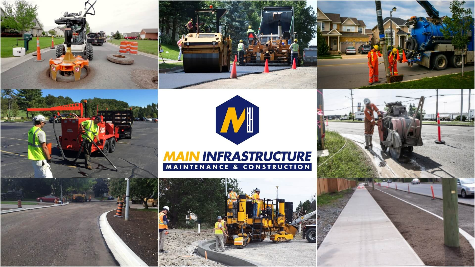 Paving Services Toronto – Main Infrastructure